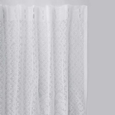 499-037 Занавеска тюлевая для кухни 170x160 см, 100% полиэстер, 2 дизайна