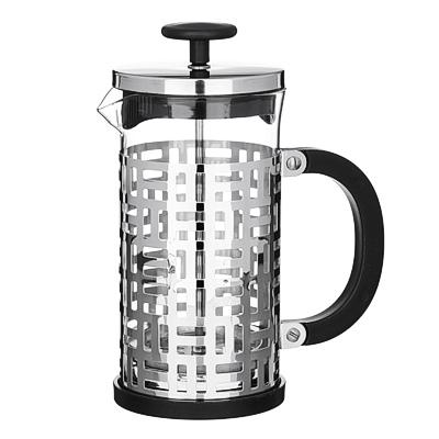 850-190 VETTA Делайн Френч-пресс 600мл, жаропрочное стекло, нерж.сталь