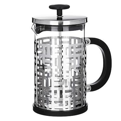 850-191 VETTA Делайн Френч-пресс 800мл, жаропрочное стекло, нерж.сталь