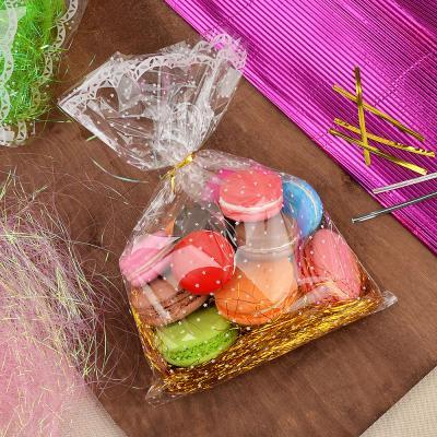 505-025 Пакет для упаковки подарков, ПВХ, с рисунком, 20х30 см