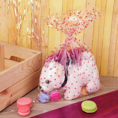 505-027 Пакет для упаковки подарков, ПВХ, с рисунком, 35х50 см