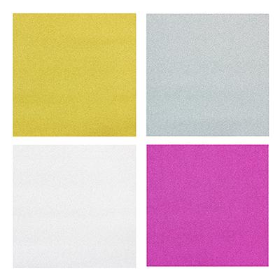 207-061 Бумага упаковочная с блеском, 53х75см., 4 цвета