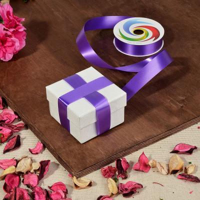 505-039 Лента подарочная, декоративная, 1,8 см х 8 м, пластик, 9 цветов
