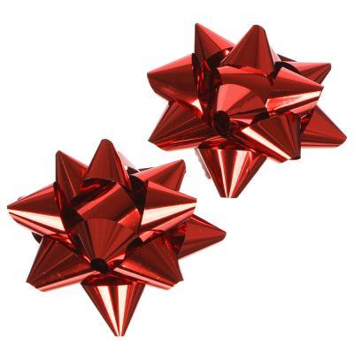 505-050 LADECOR Набор подарочных бантов, 2 шт, 7 см, 6 цветов, арт.1
