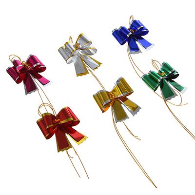 505-058 Набор бантов двойных, 5 шт, 4,5х39 см, 6 цветов