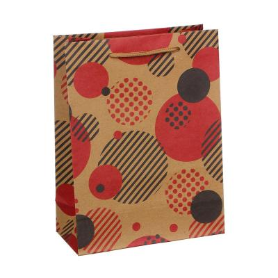 505-074 Пакет подарочный бумажный, крафт, 18х24х8,5 см, 16 дизайнов
