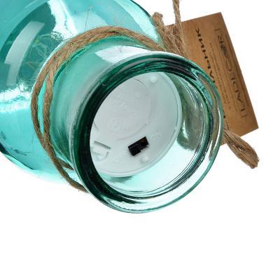 695-030 LADECOR Светильник LED декоративный, стекло, d6,8Х15СМ, 1*CR2032, 6 цветов, 1 РЕЖИМ СВЕЧЕНИЯ