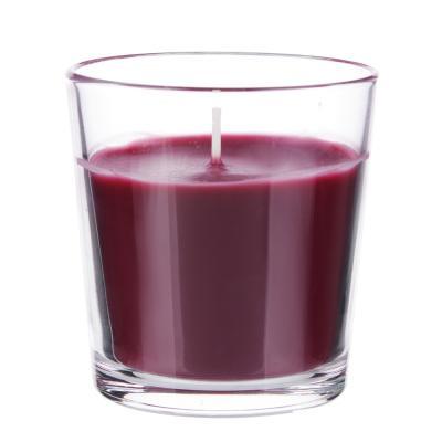 508-611 Свеча ароматическая в стеклянном стакане, 8х7,5 см, 6 ароматов