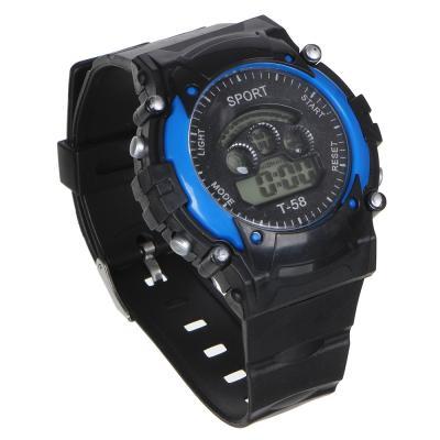 349-558 BERIOTTI Часы электронные, 4-6 цветов, тип батарейки AG10, ЧН2019-1