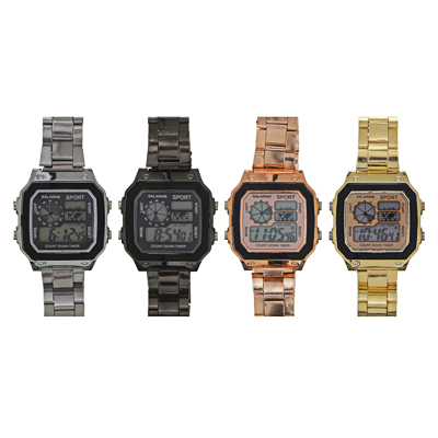 349-560 BERIOTTI Часы электронные, 4-6 цветов, тип батарейки 2016, ЧН2019-3