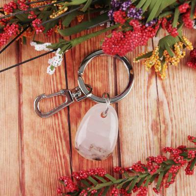349-582 BERIOTTI Стихия Земля Брелок из натурального камня, металл, 2,5х3,5х0,8см, 3 цвета