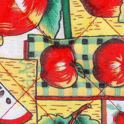 493-094 Прихватка-варежка для кухни 17х25 см, 100% полиэстер, 4 дизайна