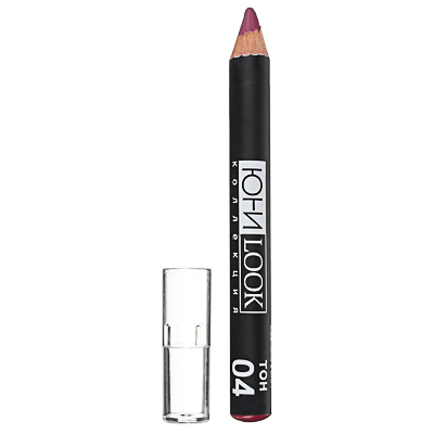 330-335 Помада-карандаш для губ ЮниLook, тон 04 виноградный, 2,2 г