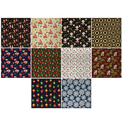 369-412 Бумага упаковочная СНОУ БУМ 70х100см, мелованная, 65-70г, 16 дизайнов