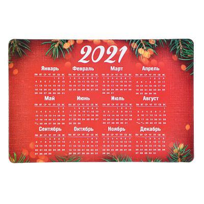 """393-198 Календарь-магнит на холодильник СНОУ БУМ """"Новогодний"""", 15х10 см, бумага, винил, 12 дизайнов ГЦ"""