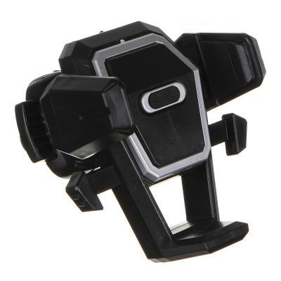 733-026 NEW GALAXY Держатель телефона на дефлектор, тип: раздвижной, с кнопкой, пластик
