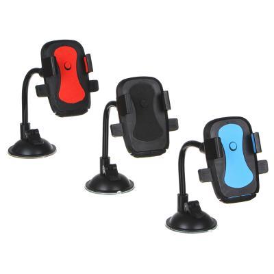733-027 NEW GALAXY Держатель телефона на присоске, тип: раздвижной, гибкая ножка, 23см, пластик