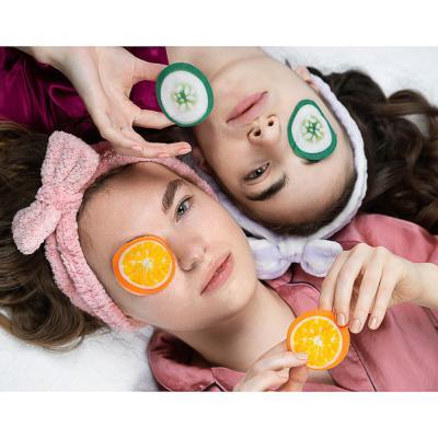 330-365 Патчи для глаз ЮниLook, с экстрактом апельсина и витаминами С и Е, 6 млх5 пар