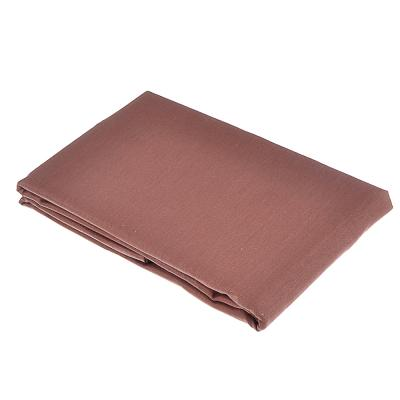 432-027 Наволочка 70х70 см PROVANCE, хлопок, бежевый/шоколад