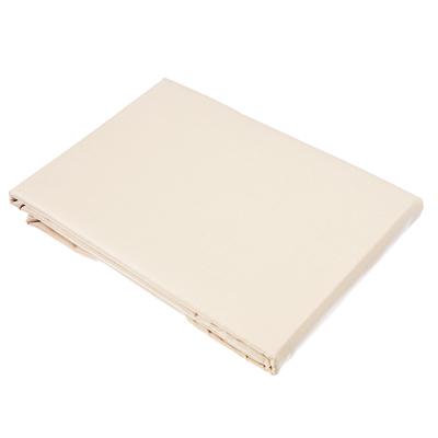 432-028 Простыня 1,5 PROVANCE, 150х220 см, хлопок, бежевый/шоколад