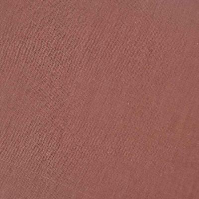 432-030 Простыня евро PROVANCE, 200х220 см, хлопок, бежевый/шоколад