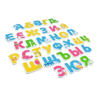 260-021 ИГРОЛЕНД ЭВА-алфавит для ванной, 33дет., ЭВА, 22,6х25,3х2,2см