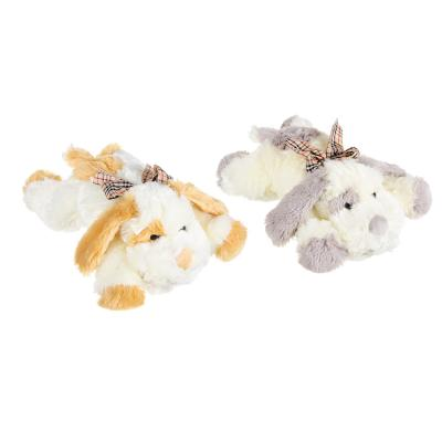 264-220 МЕШОК ПОДАРКОВ Игрушка мягкая в виде собаки, полиэстер, 30см, 2 цвета