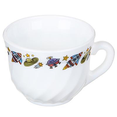 829-194 MILLIMI Бабуся Ягуся Кружка 190мл, опаловое стекло
