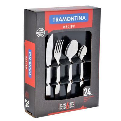 871-521 Tramontina Malibu Набор столовых приборов 24пр, 23799/043