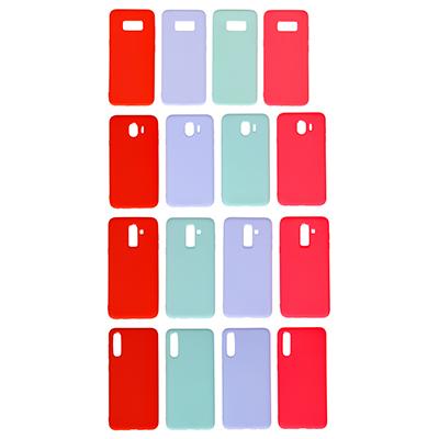 325-232 Чехол защитный для телефона, силикон, 4 модели, 4 цвета, ЧМ19-4