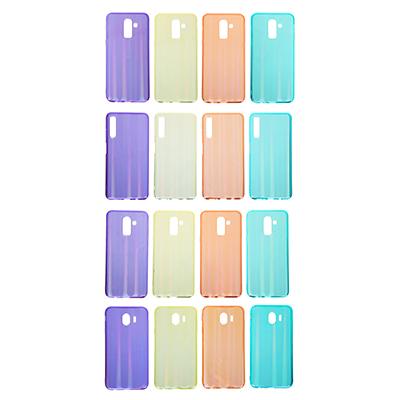 325-236 Чехол защитный для телефона, TPU, 4 модели, 4 цвета, ЧМ19-1