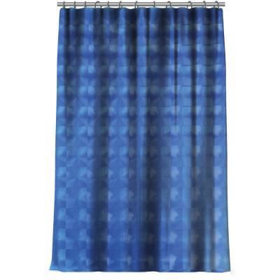 461-502 VETTA Шторка для ванной, винил, 180x180см, 12 колец, 3D, 2 дизайна