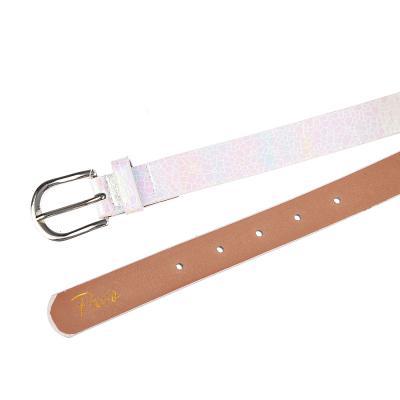 311-392 PAVO Ремень для девочек, ПУ, сплав, длина 70/80см, ширина 2,3см, 2 дизайна, РД19-3