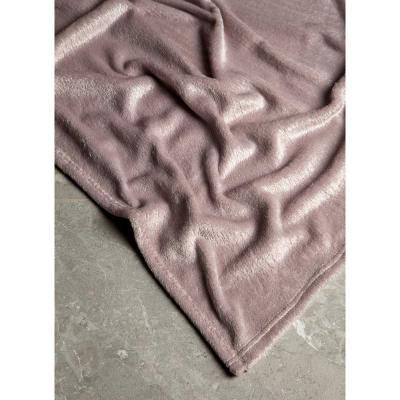 420-001 Плед с фольгированным принтом PROVANCE 130х150см, 240гр/м, 100% полиэстер, 3 цвета