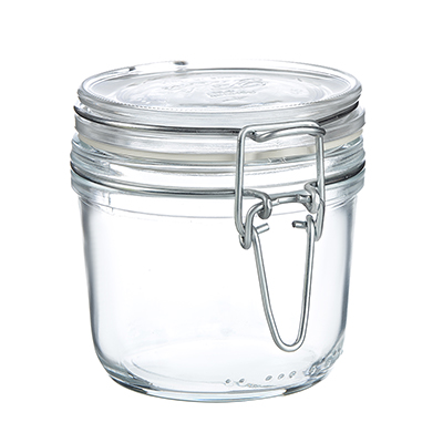 838-050 Банка для сыпучих продуктов 350 мл Bormioli Fido, бугельный замок, стекло