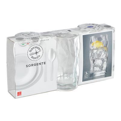 838-051 Bormioli Sorgente Набор 3х стаканов, 460мл, стекло