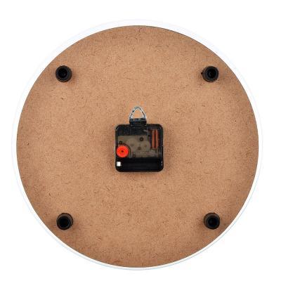 500-001 Часы настенные круглые, 30см, стекло, 2 дизайна, МТ 1