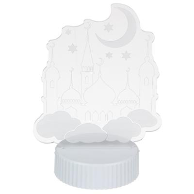 500-009 Светильник, 18х13х8,5см, пластик, МТ 3, 3хААА