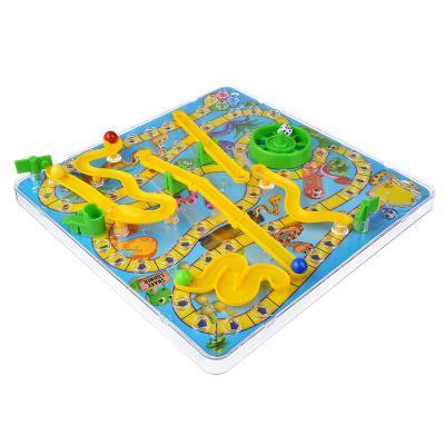 897-059 ИГРОЛЕНД Игра настольная 3D-змейки, пластик, 31,5х31,5х5,5см