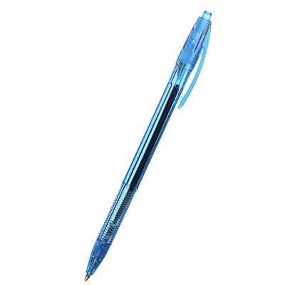 "626-018 Erich Krause Авторучка шариковая синяя ""R-301 Матик"", 1мм, прозрачный корпус, пластик, 38509"