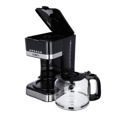 286-034 Кофеварка капельная с таймером LEBEN, на 15 чашек, колба 1,8 л