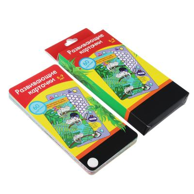 857-112 ИГРОЛЕНД Карточки развивающие 60 шт, картон, 9х19x2см