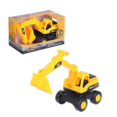 292-181 ИГРОЛЕНД Машина в виде строительной техники, пластик, 10х10х19см, 3 дизайна