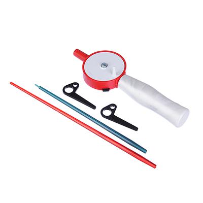 126-019 AZOR FISHING Удочка зимняя с ручкой из пенополистирола, два шестика из поликарбоната