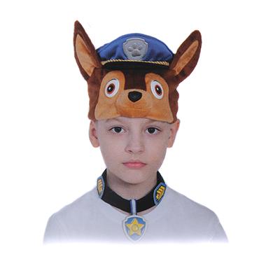"""389-233 Карнавальный набор пирата  """"Гончик Чейз"""": маска-шапочка и ошейник с бейджем, размер 53-55см"""
