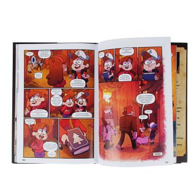 "837-113 ЭКСМО Книга ""Гравити Фолз. Забытые легенды"", бумага, картон, 24х17х12см, 144стр."