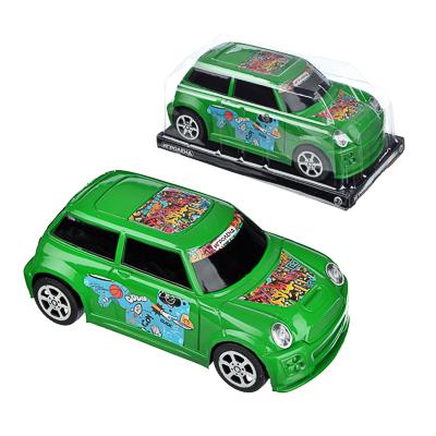 292-192 ИГРОЛЕНД Машина городская, инерция, пластик, 17х8х6см, 3 цвета