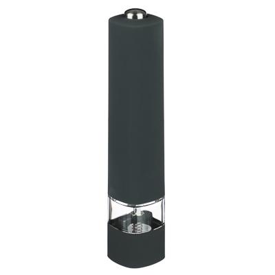 827-086 SATOSHI Мельница для специй электрическая 20,5 см, пластик/акрил/силикон, 2 цвета, MG707D