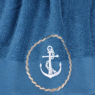 """420-012 Полотенце махровое подарочное 50х90 см PROVANCE """"Море"""", 100% хлопок, 400 гр/м, 2 дизайна"""