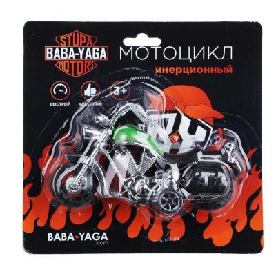 292-193 BY Мотоцикл, инерция, пластик, 12х6,5х4,5см, 2 дизайна